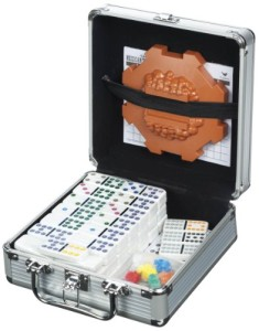 Cardinal-Industries-Mexican-Train-Domino-Game-in-an-Aluminum-Case-0