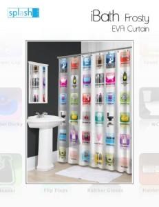 Splash-Home-EVA-Shower-Curtain-70-by-72-Inch-Ibath-Frosty-0