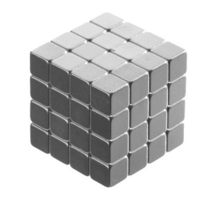 totalElement-64-Neodymium-Rare-Earth-Magnets-14-Inch-Cube-N48-0