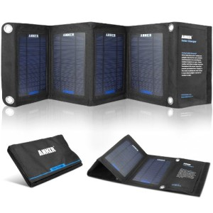 Anker®-14W-Dual-Port-Portable-Foldable-Outdoor-Solar-Charger-with-PowerIQ™-Technology-0