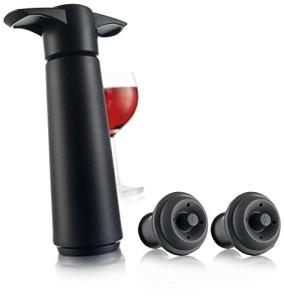 Vacu-Vin-981460-Wine-Saver-Vacuum-Wine-Pump-with-2-Stoppers-0