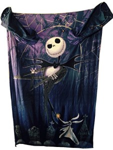 The-Nightmare-Before-Christmas-Comfy-Blanket-with-Sleeves-Jack-Skellington-Zero-Unisex-Adult-Size-0